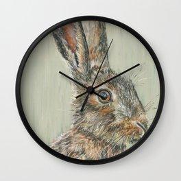 Spring Hare Wall Clock