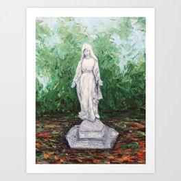 Gloria's Garden Art Print