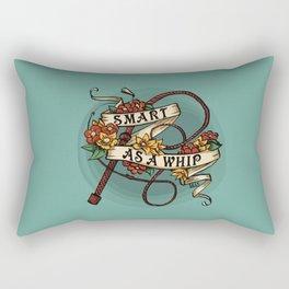 Smart as a Whip Rectangular Pillow