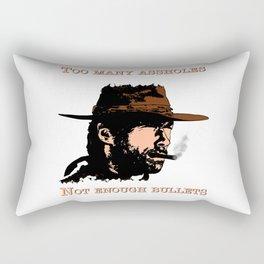 Clint Eastwood Rectangular Pillow
