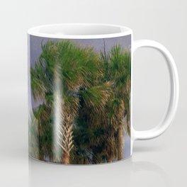 Palm Trees, Stormy Weather Coffee Mug
