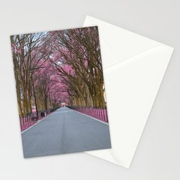 Pink Mall Promenade Stationery Cards