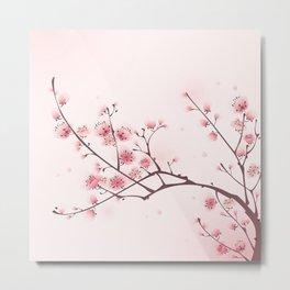 Oriental cheery blossom in spring 006 Metal Print