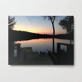 Cottage Lake Metal Print
