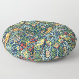 "William Morris ""Strawberry Thief"" 11. Floor Pillow"