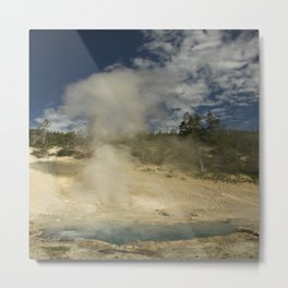 Norris Geyser Basin - Beryl Spring Metal Print