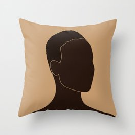 FOR BROWN GIRLS I Throw Pillow