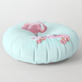 SKATE FLAMINGO Floor Pillow