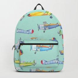 Vintage Airplanes Backpack