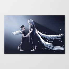 Broken Wings Canvas Print