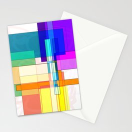 Squares combined no. 6 Stationery Cards