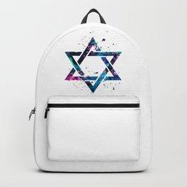 Star Of David Backpack
