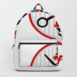 Barber Logo Backpack
