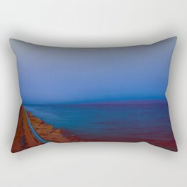 Virtual Aquascapes I Rectangular Pillow