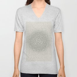 butterflies flying in a circle scatter in different directions. pastel Unisex V-Neck