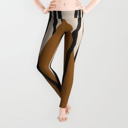 Minimal Geometric Study 92 Leggings