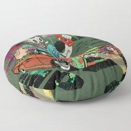 Arch Rival Floor Pillow