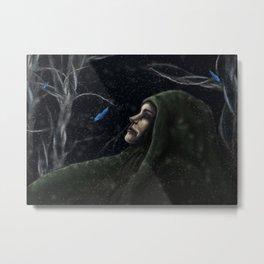 Norash Demon Metal Print