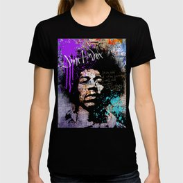 JIMI GOD / PURPLE T-shirt