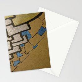 Eiffel tower Paris cube close up original artwork Stationery Cards