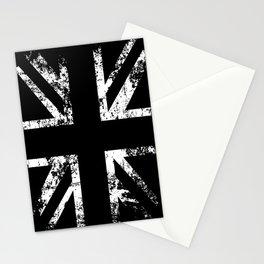 United Kingdom Black Flag Stationery Cards