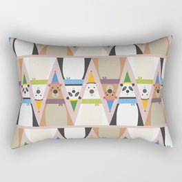 A Sleuth of Bears (Patterns Please) Rectangular Pillow