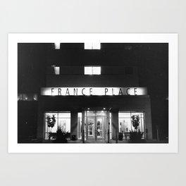 France Place Art Print