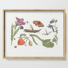 Common place miracles -Natural History Part 1 Serving Tray