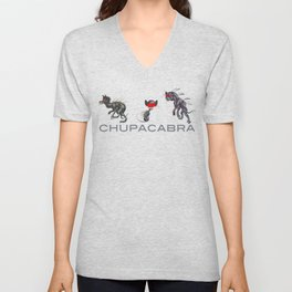Chupacabra Chow Unisex V-Neck
