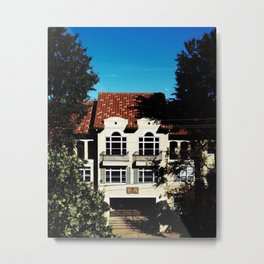 Townhouse Metal Print