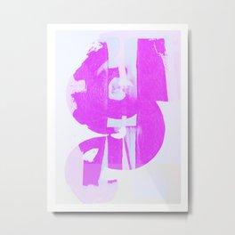 Color Variations in pink 014 Metal Print