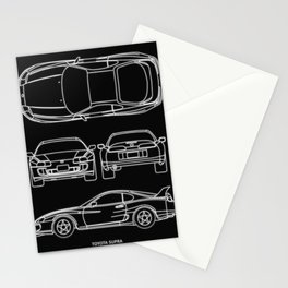 Supra Mk 4 Stationery Cards
