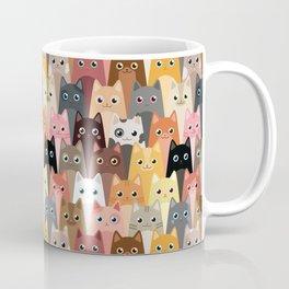 Cats Pattern Kaffeebecher