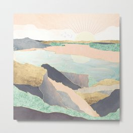 Sunrise Beach Metal Print