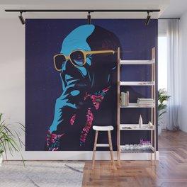 """Milton Friedman"" Portrait Wall Mural"