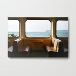 Ferry to Whidbey Island, Washington  Metal Print