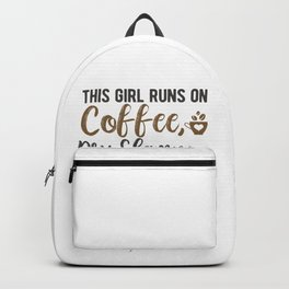 This girl runs on coffee, dry shampoo, and gaming Backpack