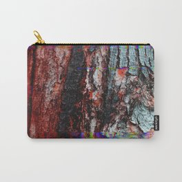 Glitch Wood Carry-All Pouch