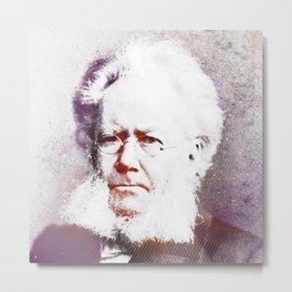 Henrik Ibsen Metal Print