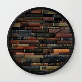 Books on Books Wall Clock