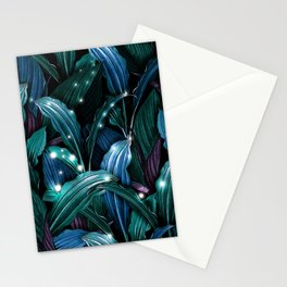 Tropical Magic Forest Stationery Cards