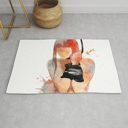 Shibari - Japanese BDSM Art Painting #5 Rug