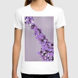 Purple foliage T-shirt