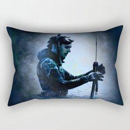 The Water Bearer Rectangular Pillow