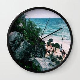 Playa Paraiso II Wall Clock