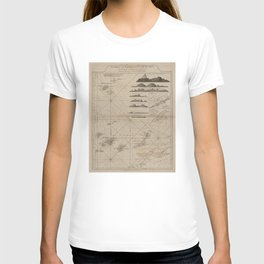Vintage Canary Islands Map (1775) T-shirt
