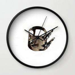 Ligature Wall Clock