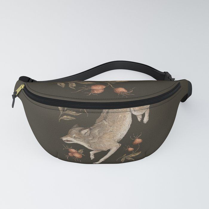 The Wolf and Rose Hips Fanny Pack