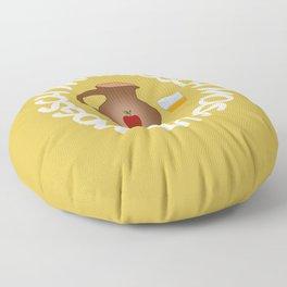 Most Apfelwein Apfelsaft Apfel Ernte mosten Moster Floor Pillow