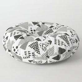 Geometric in Memphis Floor Pillow